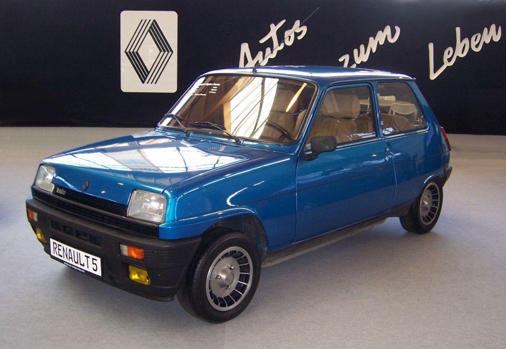 Renault 5 Alpine Turbo wallpaper