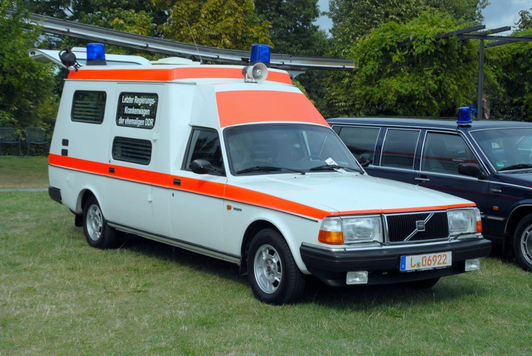 Volvo 240 Ambulance Wallpaper 3872x2592 225334 Wallpaperup