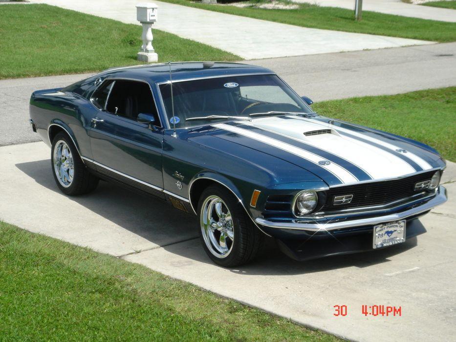 Ford Mustang Mach 1 1970 wallpaper