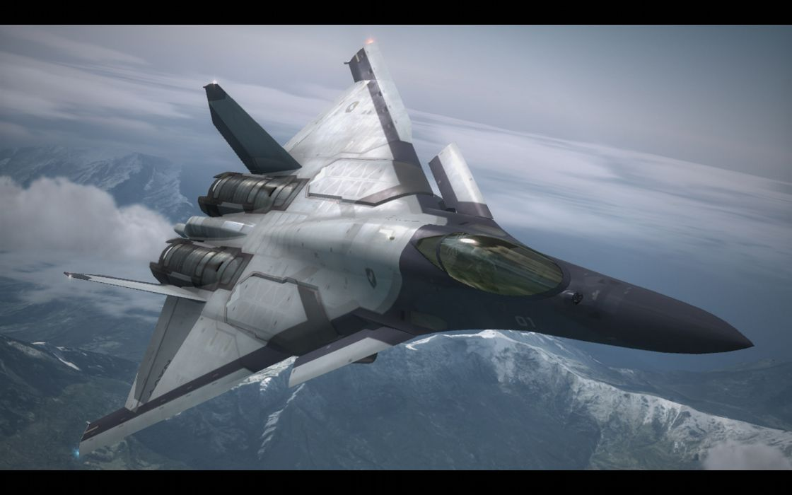 ACE COMBAT game jet airplane aircraft fighter plane military    d wallpaper