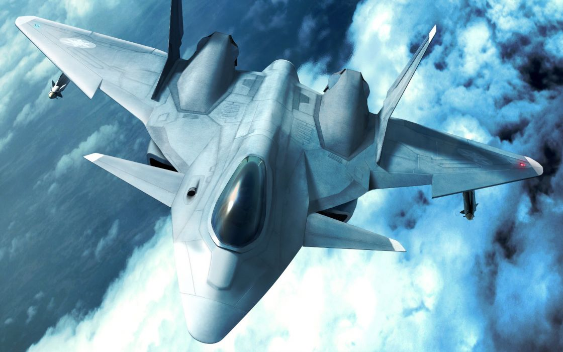 ACE COMBAT game jet airplane aircraft fighter plane military    v wallpaper