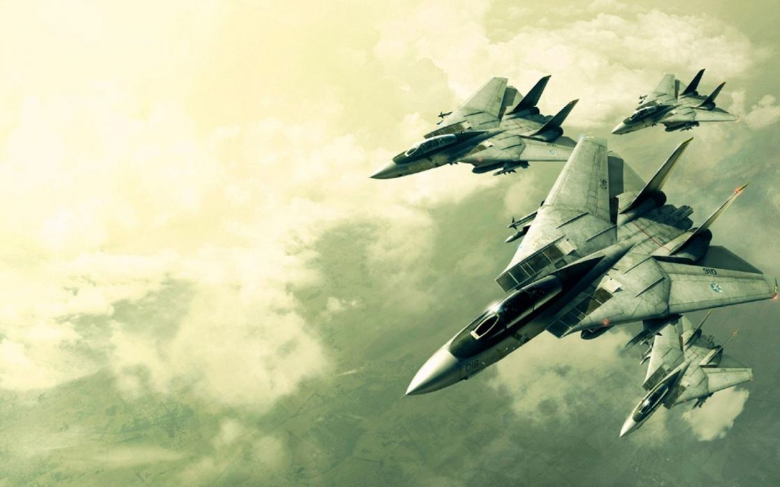 ACE COMBAT game jet airplane aircraft fighter plane military  gd wallpaper