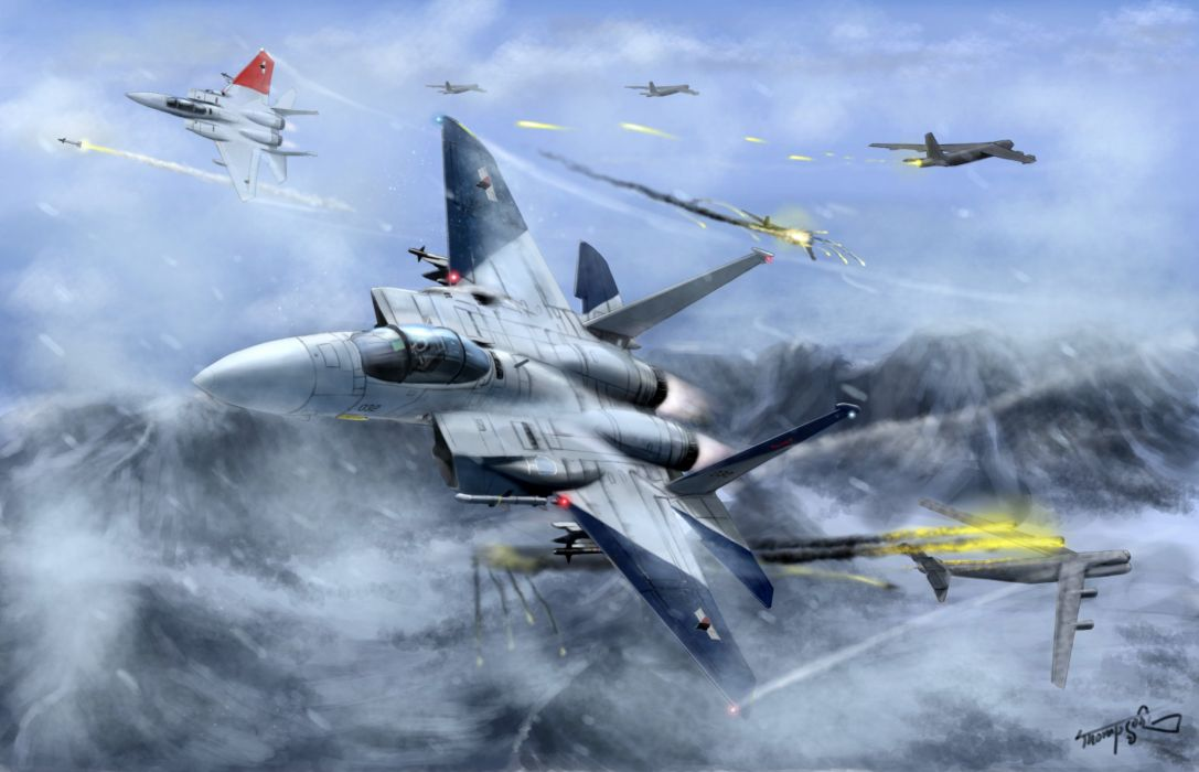 ACE COMBAT game jet airplane aircraft fighter plane military battle         g wallpaper