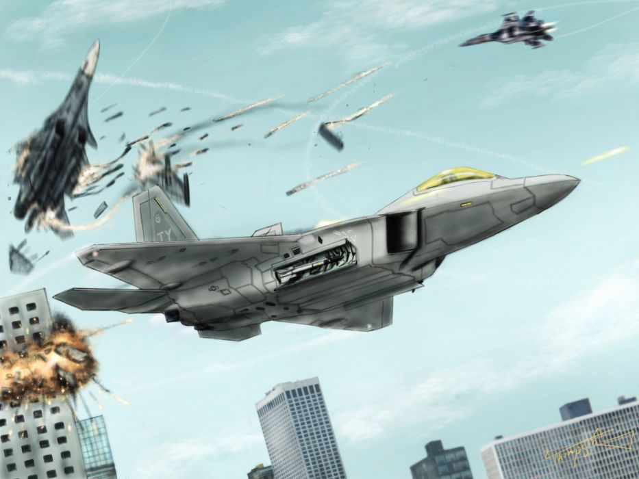 ACE COMBAT game jet airplane aircraft fighter plane military battle     hf wallpaper