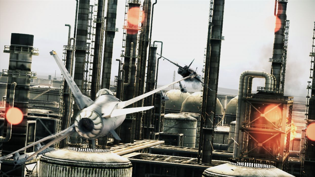 ACE COMBAT game jet airplane aircraft fighter plane military battle    d wallpaper