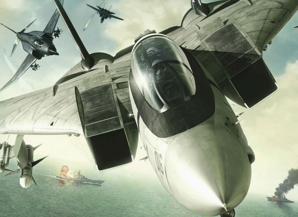 ACE COMBAT game jet airplane aircraft fighter plane military battle    gd wallpaper
