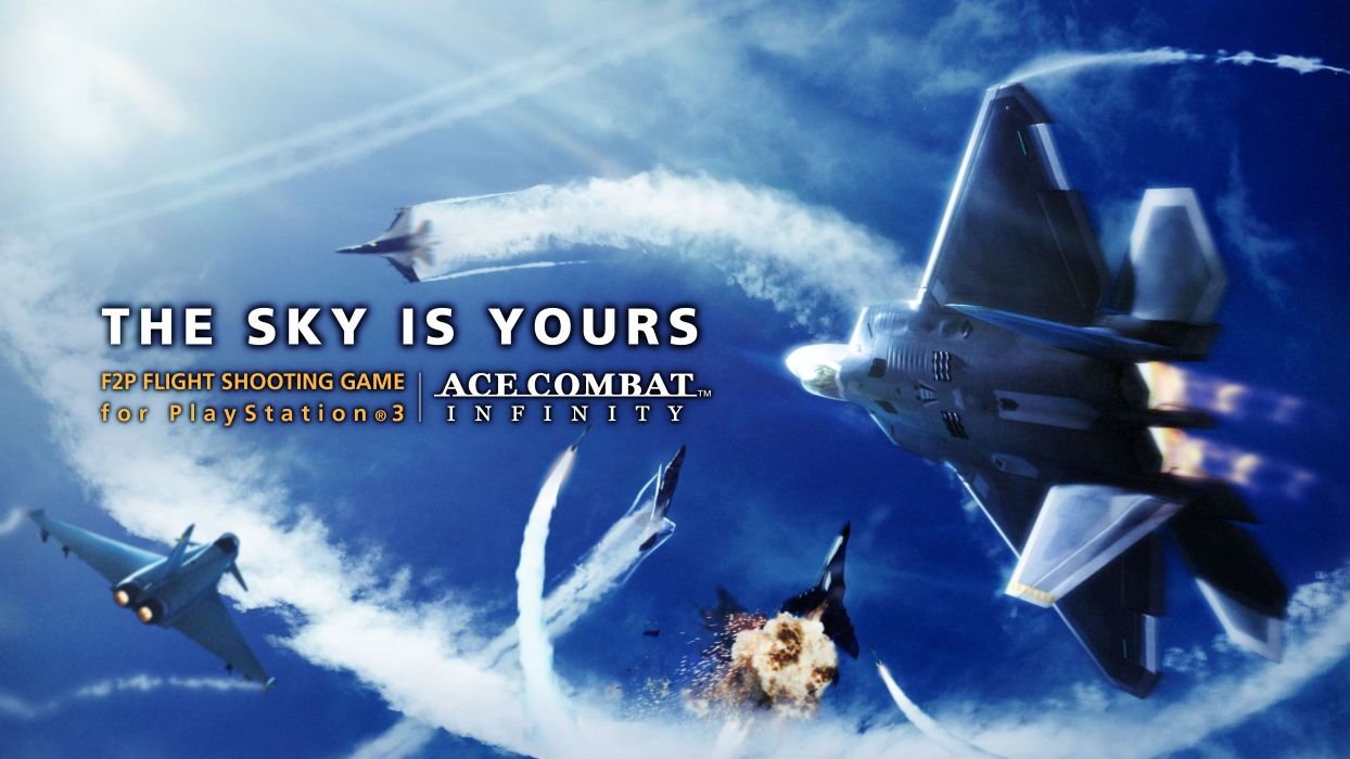 ACE COMBAT game jet airplane aircraft fighter plane military poster     g wallpaper