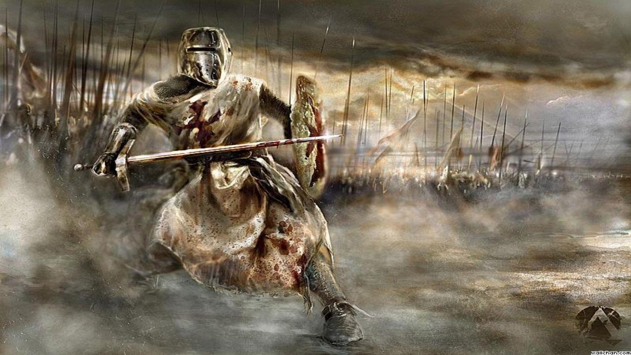 MOUNT AND BLADE fantasy warrior armor knight battle      e wallpaper