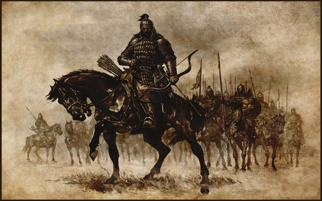 MOUNT AND BLADE fantasy warrior armor weapon archer horse   f wallpaper