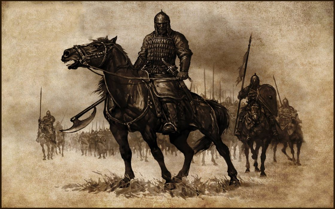 MOUNT AND BLADE fantasy warrior armor weapon horse    f wallpaper