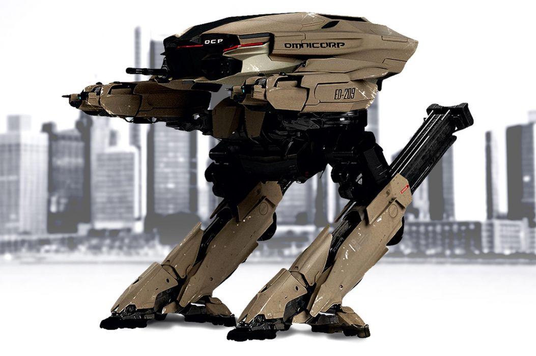 ROBOCOP sci-fi cyborg robot warrior armor mecha mech     y wallpaper
