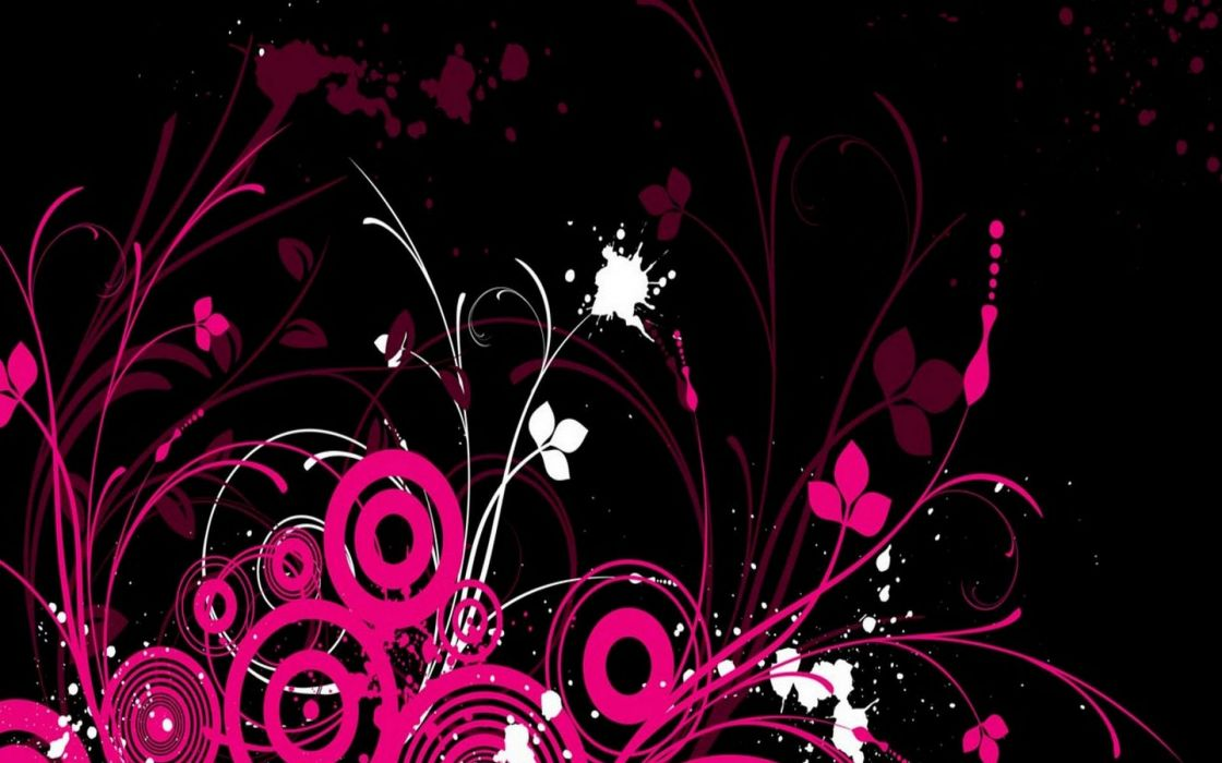 abstract floral wallpaper