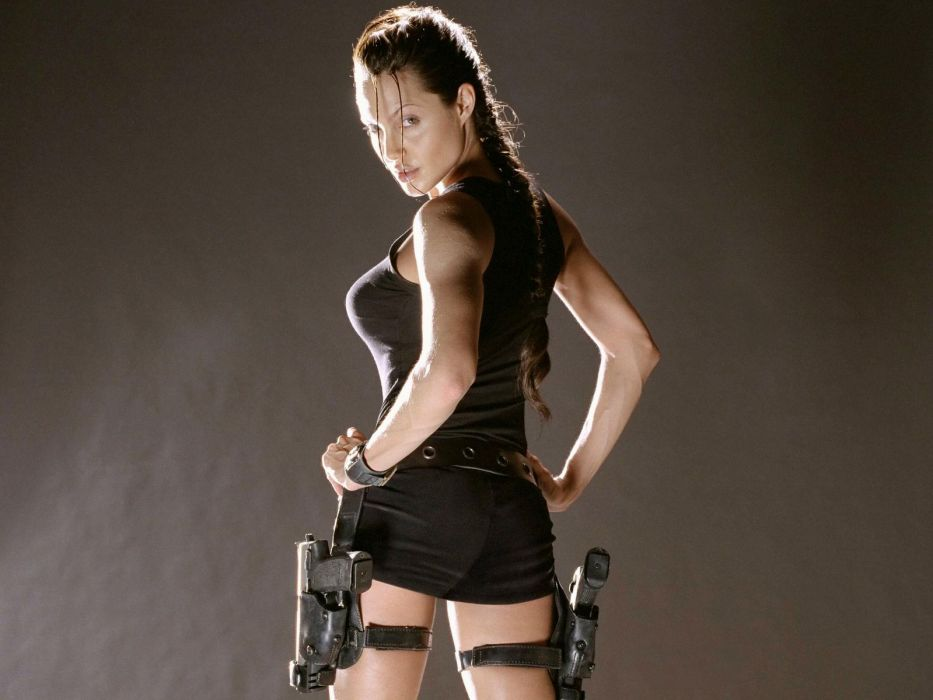 Angelina Jolie Tomb Raider Lara Croft wallpaper