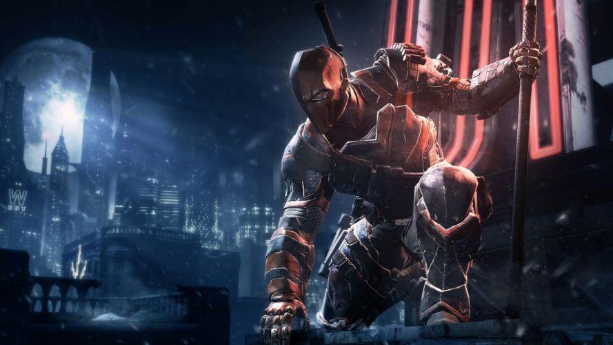 Gotham City Deathstroke Batman Arkham Origins wallpaper