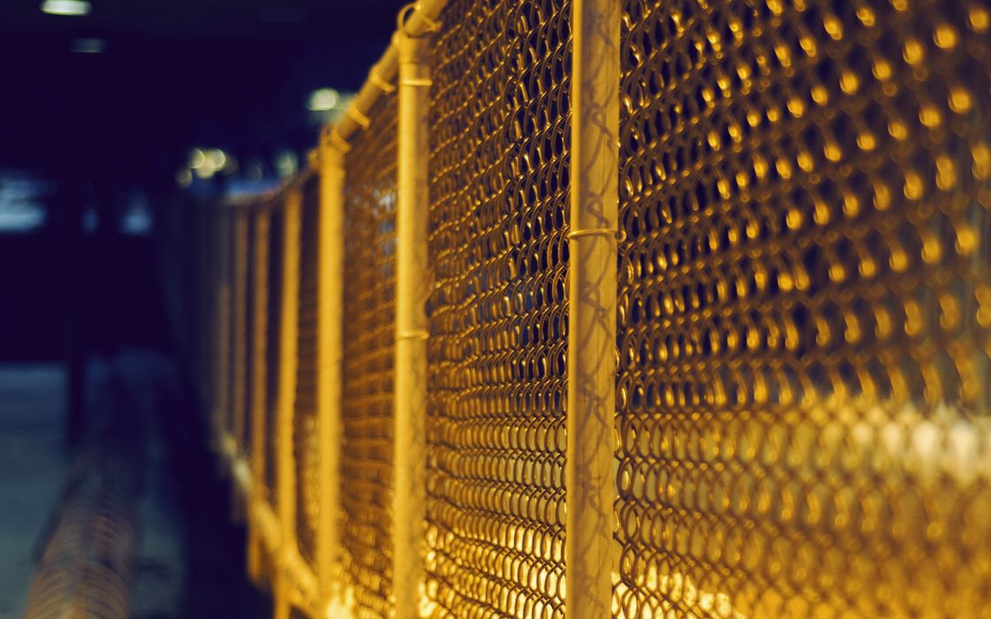 fences urban wallpaper