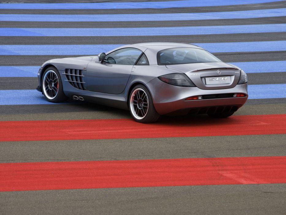 light cars Mercedes-Benz Mercedes-Benz SLR McLaren wallpaper
