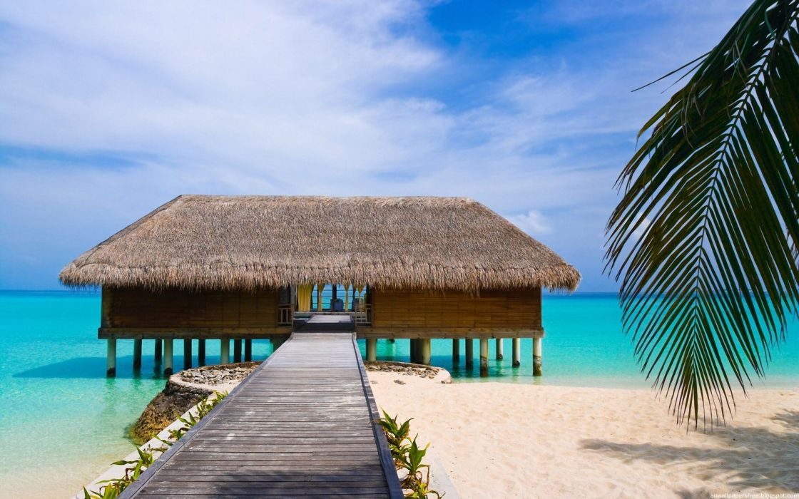 ocean paradise islands wallpaper