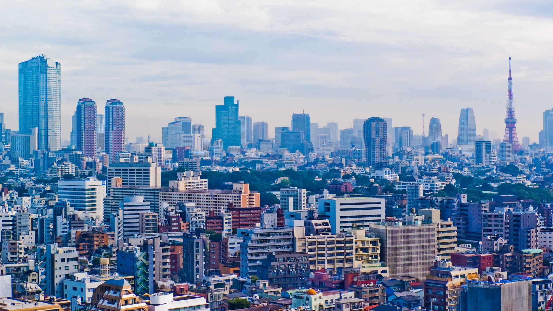 Japan tokyo cityscapes skylines buildings skyscrapers asia for Architecture tokyo