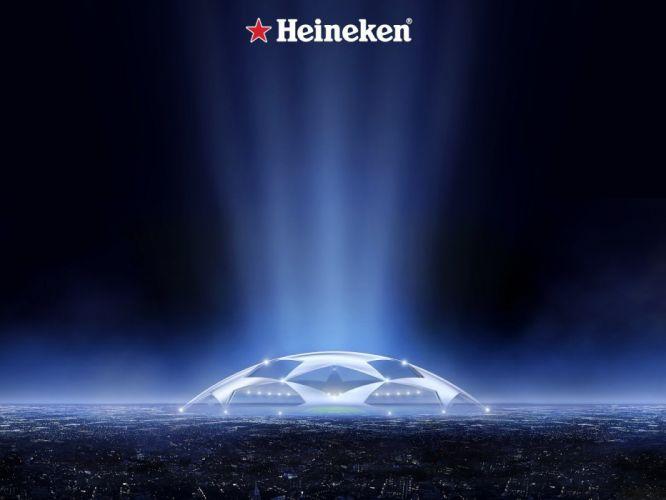 Heineken Champions League cup football wallpaper