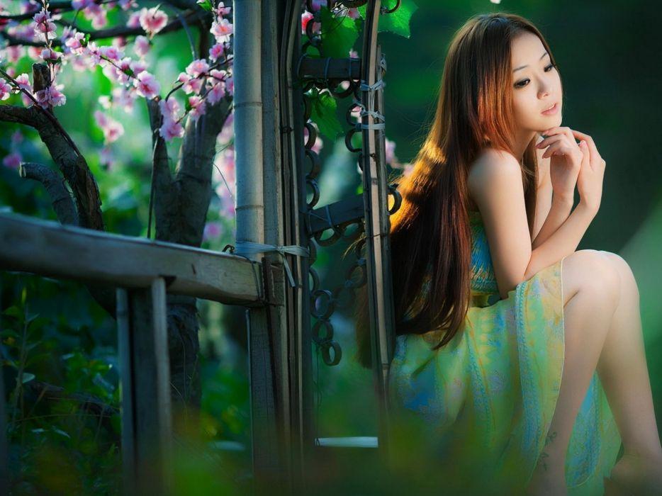 women actress models Blossom supermodels wallpaper