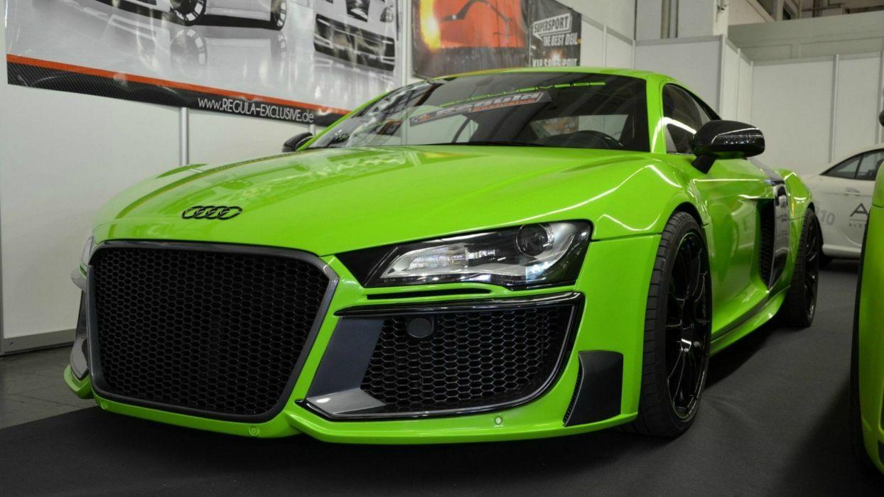 cars Audi drive chrome Audi R8 wallpaper