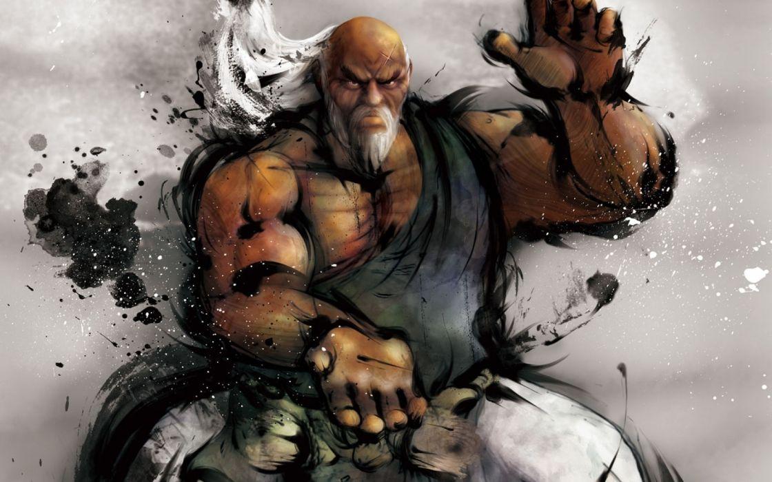 video games Street Fighter animation wallpaper