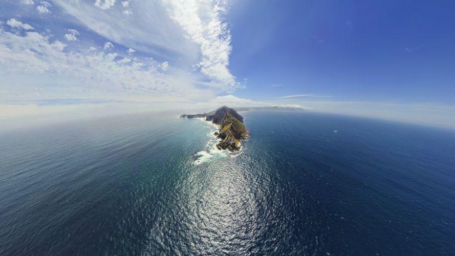 ocean landscapes nature landmark sea wallpaper