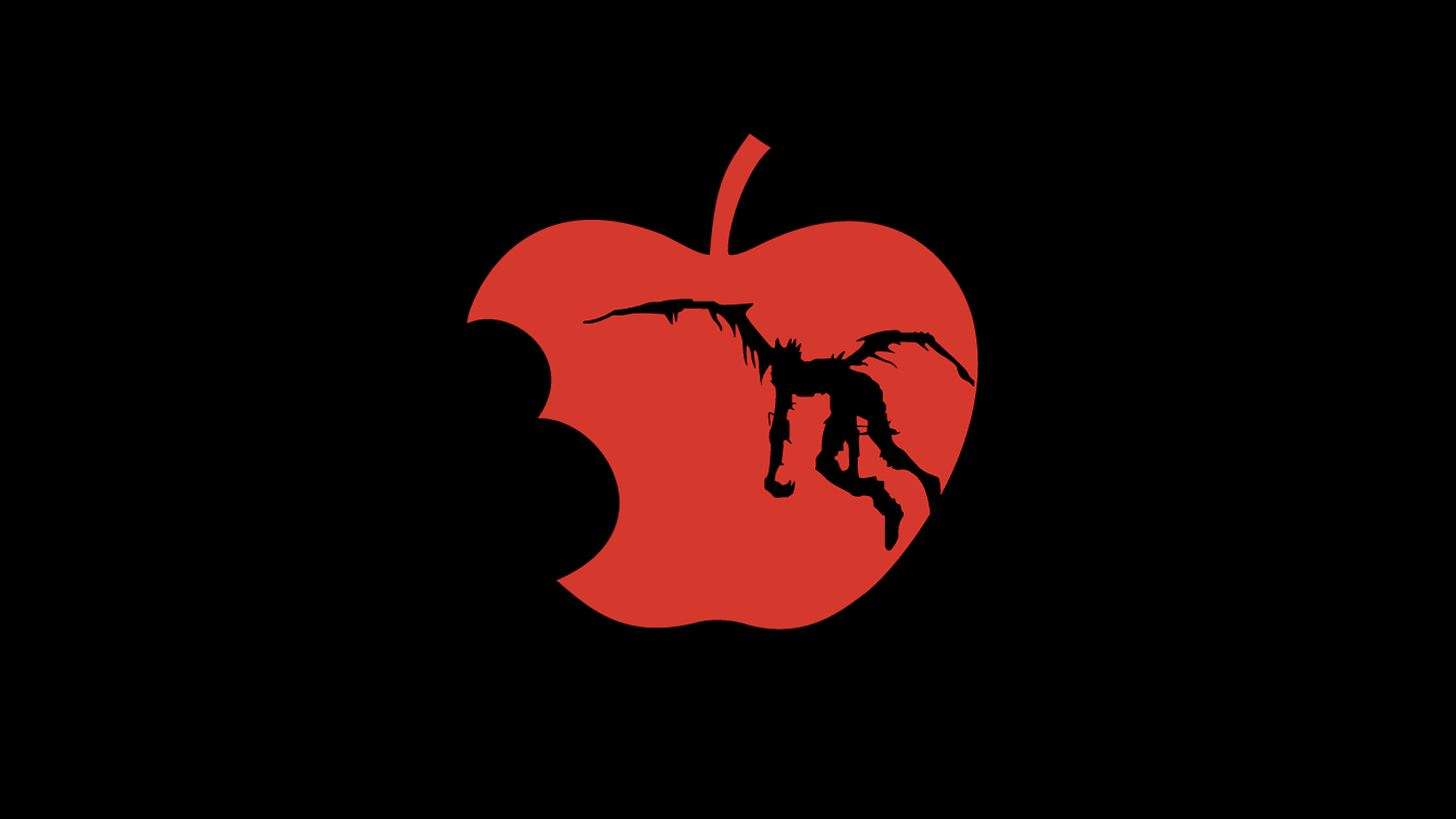 Death Note Apple Inc_ Ryuk wallpaper | 1920x1080 | 225790 ...