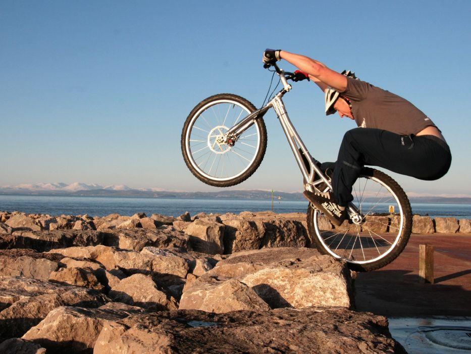 bike bicycles mountain bikes biketrial wallpaper