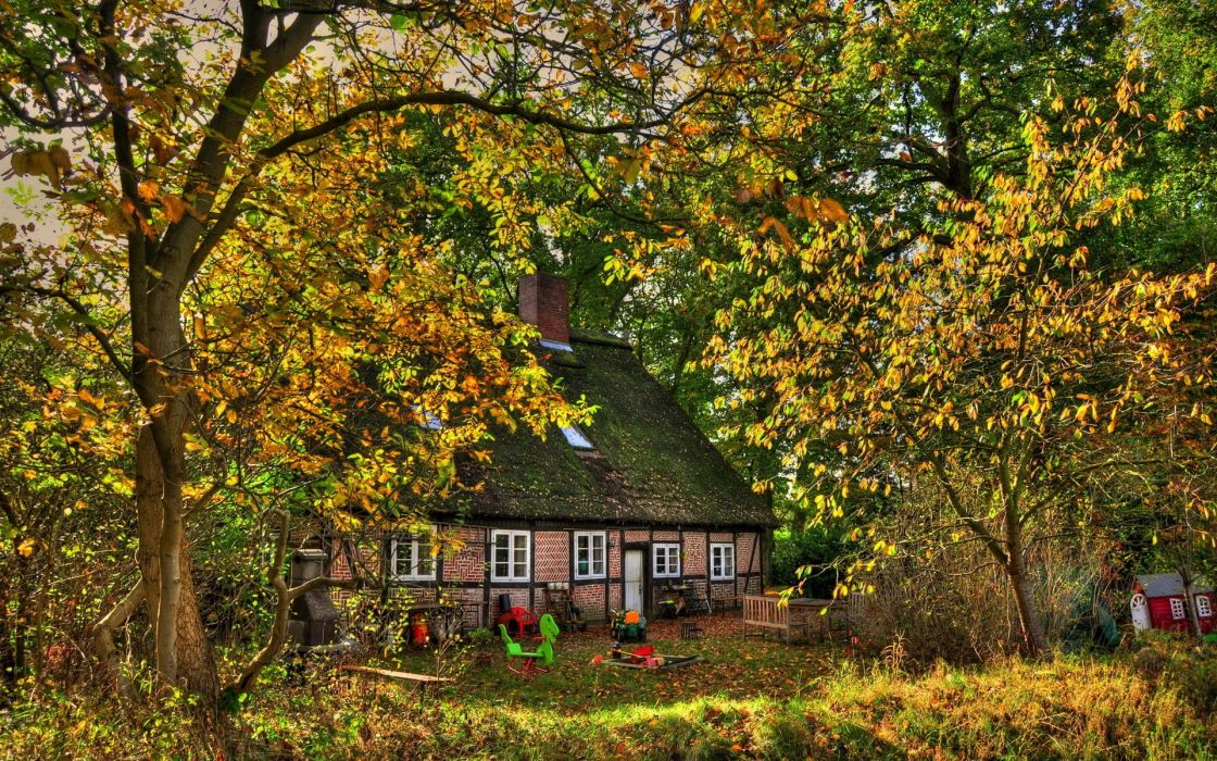 houses outdoors wallpaper