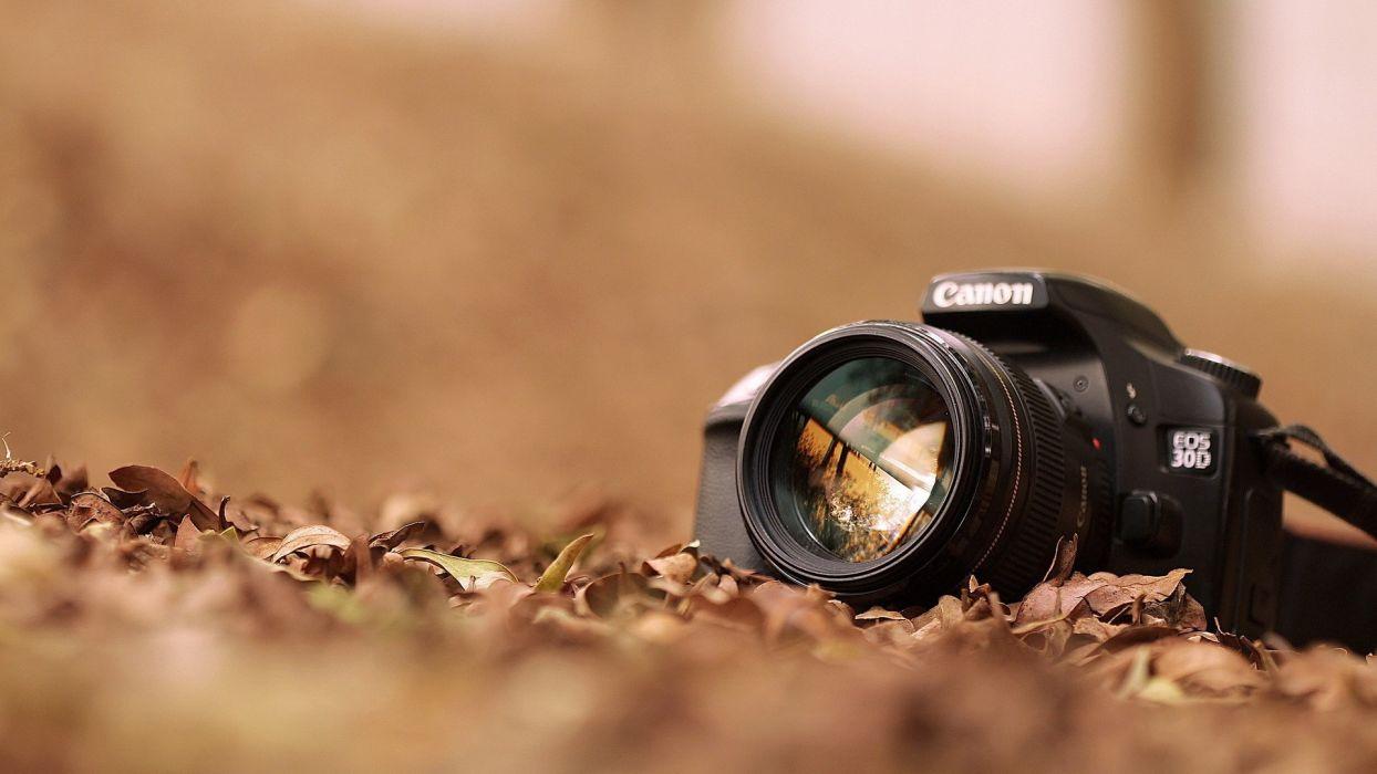 close-up technology cameras bokeh electronics digital art Canon EOS wallpaper