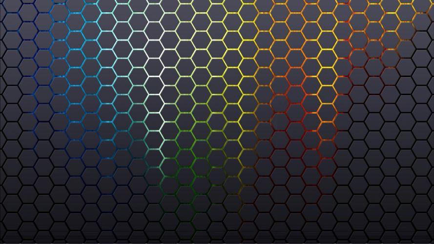 abstract patterns hexagons textures backgrounds honeycomb wallpaper