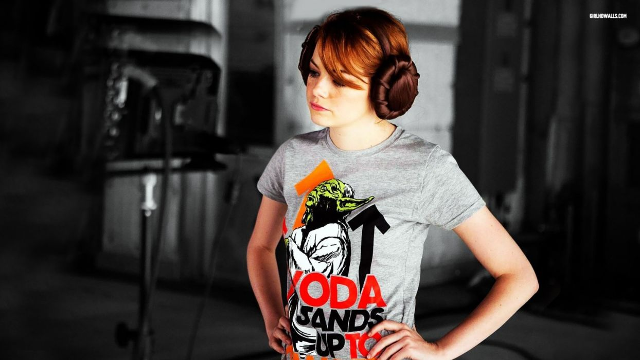 women Emma Stone wallpaper