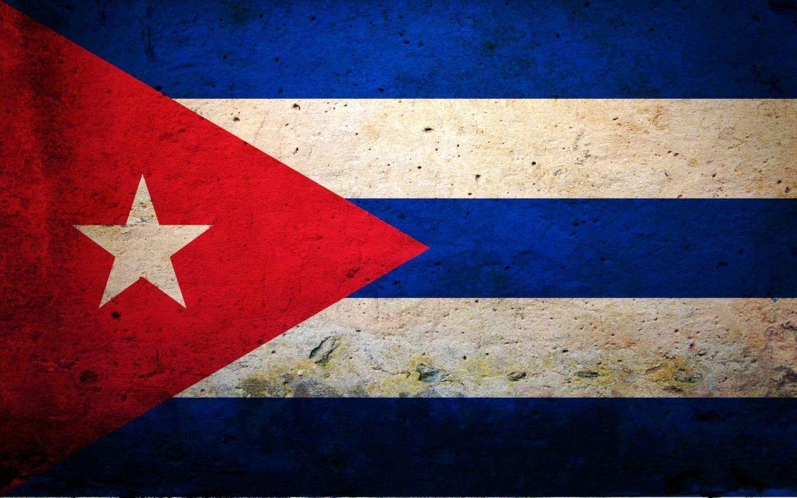flags Cuba wallpaper