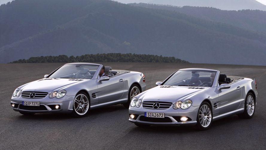 cars vehicles convertible Mercedes-Benz wallpaper