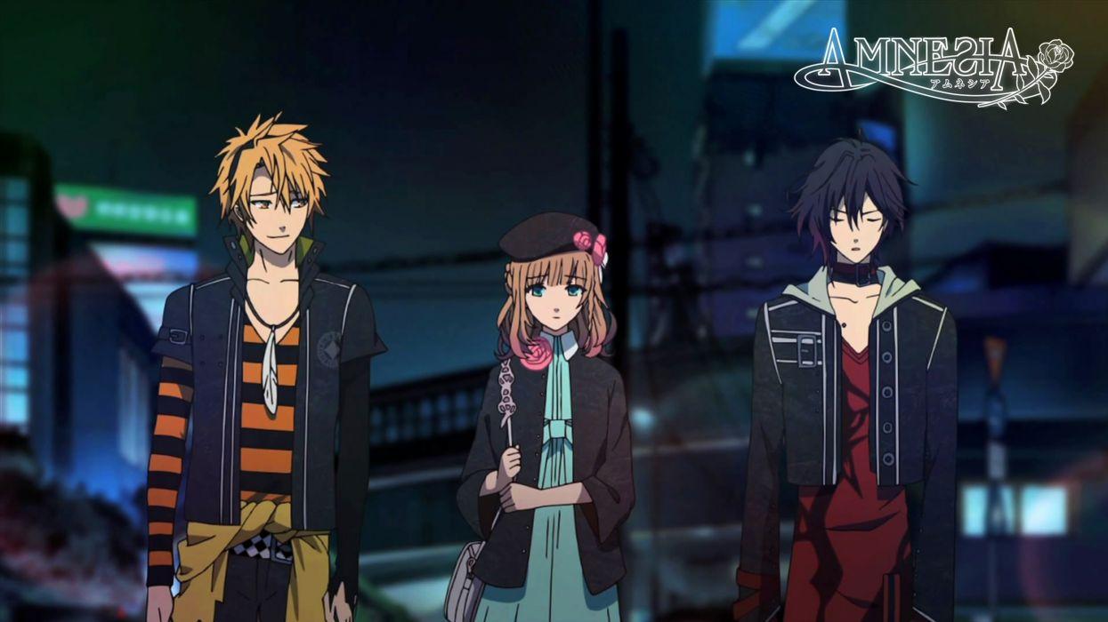 anime amnesia anime boys wallpaper