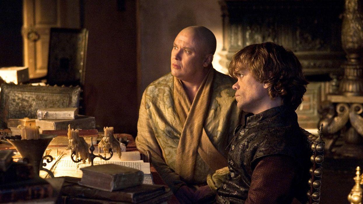 Game of Thrones TV series Tyrion Lannister Peter Dinklage Varys wallpaper