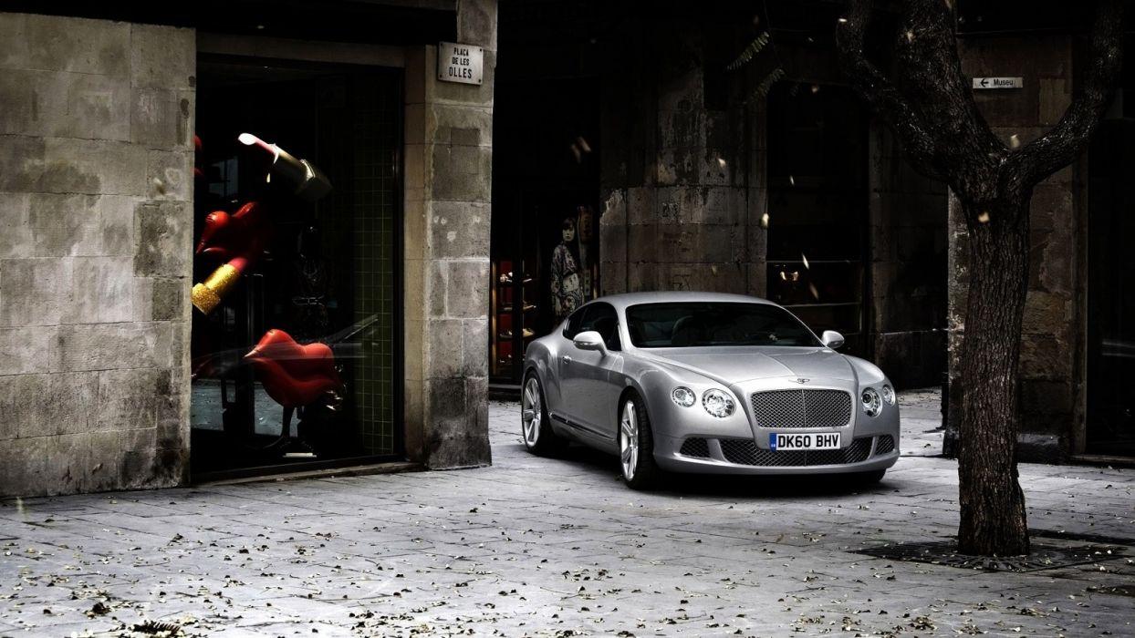 cars silver Bentley wallpaper