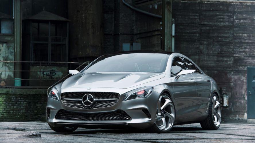 cars concept cars Style Coupe Mercedes Benz concept car wallpaper