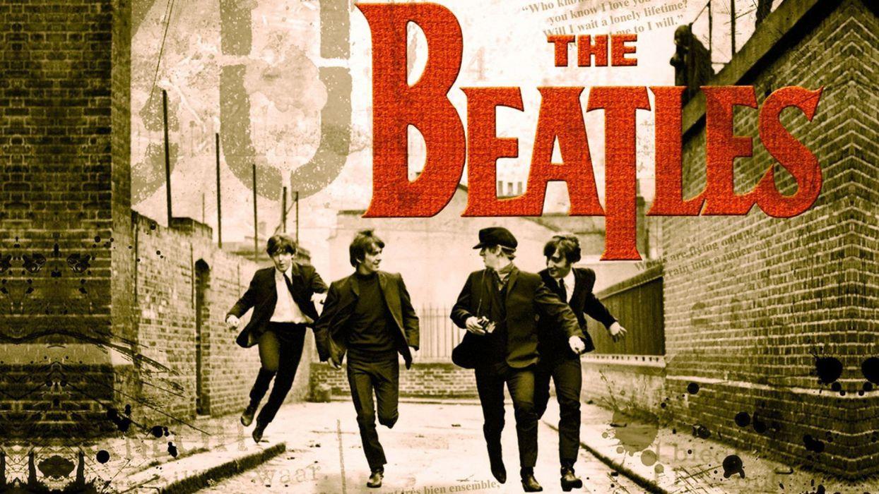 Music Groups The Beatles Musicians Pop Band Rock Wallpaper