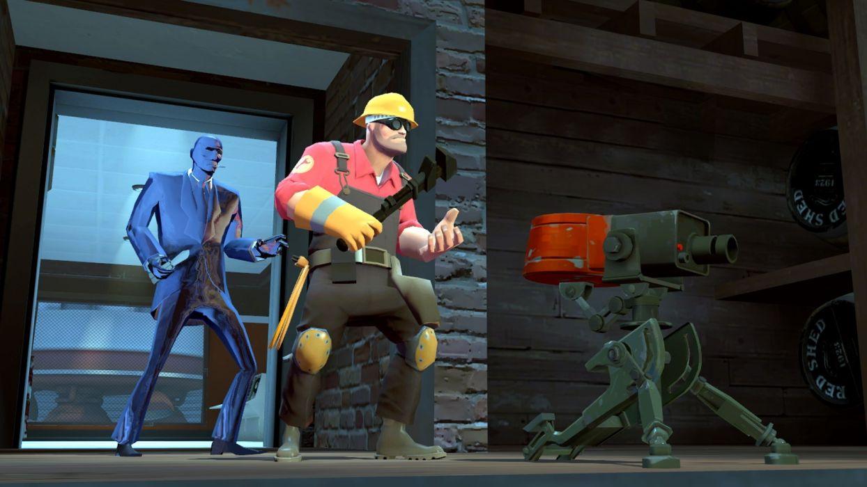 Valve Corporation Engineer TF2 Spy TF2 Team Fortress 2 wallpaper