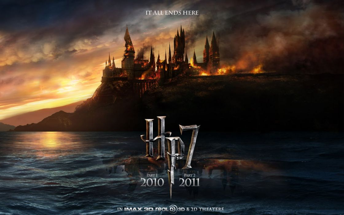 movies Harry Potter Harry Potter and the Deathly Hallows Hogwarts wallpaper