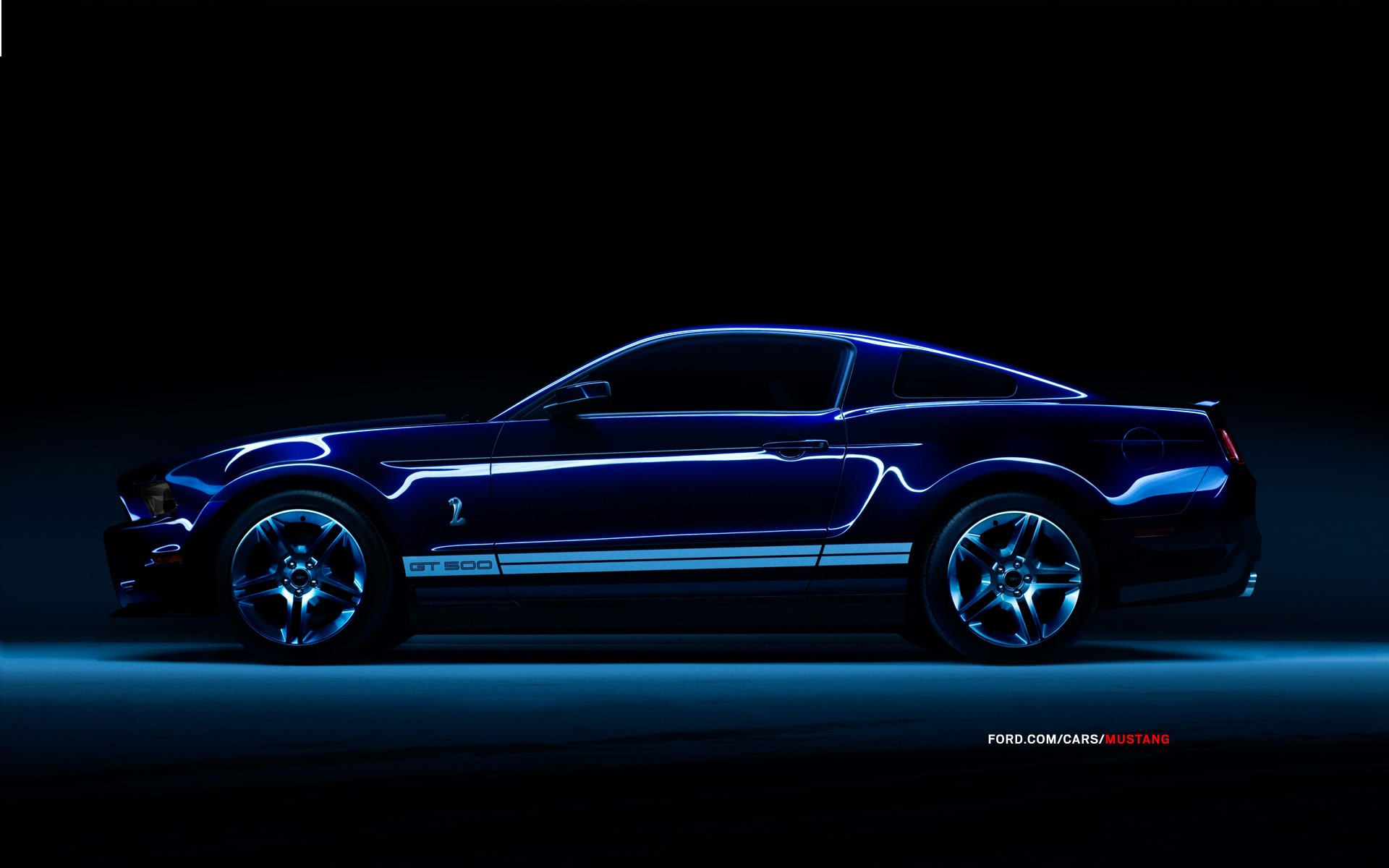 Blue red cobra Ford Ford Mustang burnout Shelby Mustang ...