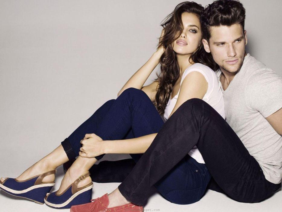 fashion couple arthur Irina Shayk wallpaper