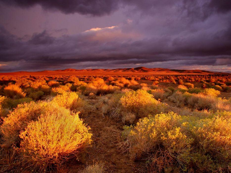 clouds landscapes nature deserts wallpaper