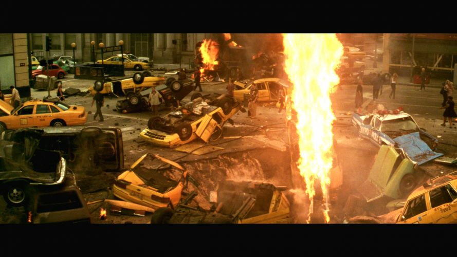 ARMAGEDDON action adventure sci-fi apocalyptic city explosion fire fw wallpaper