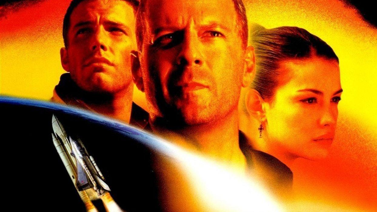 ARMAGEDDON action adventure sci-fi poster spaceship     f wallpaper