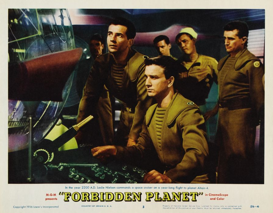 FORBIDDEN PLANET action adventure sci-fi poster   h wallpaper