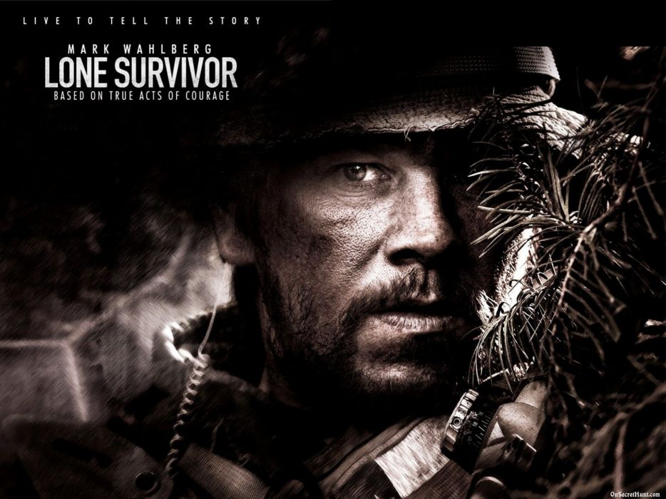 LONE SURVIVOR action biography drama military seal soldier poster       f wallpaper