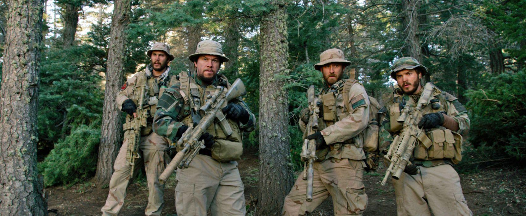 LONE SURVIVOR action biography drama military seal soldier weapon gun      f wallpaper